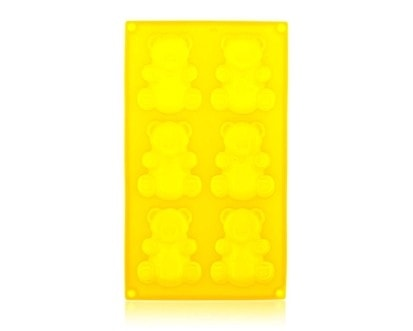 BANQUET Forma silikonová CULINARIA Yellow 31 x 18 x 2 cm, medvídci