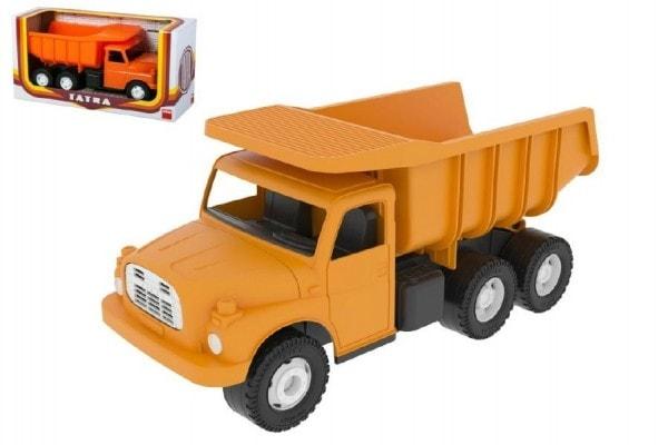 Dino Auto Tatra 148 plast 30cm celá oranžová v krabici