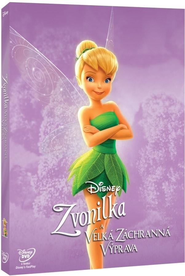 Zvonilka a velká záchranná výprava - Edice Disney Víly