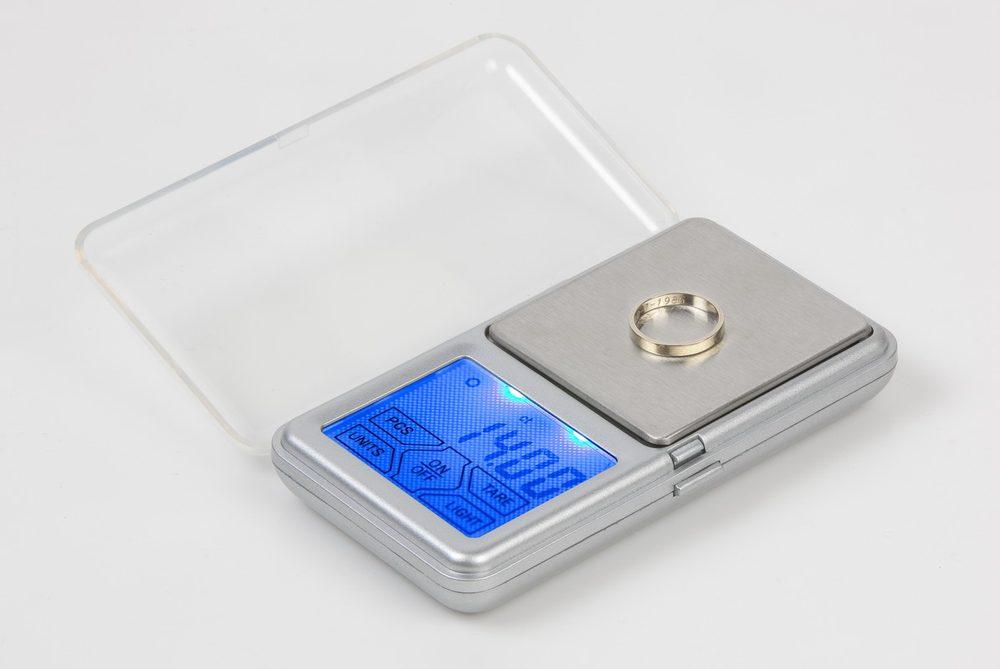DOMO Laboratorní, zlatnická váha - DOMO DO9096W, digitální, kapesní