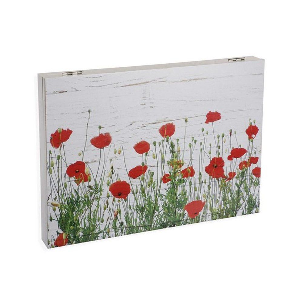 BigBuy Home Ozdobná krabice Dřevo (4,5 x 33 x 46 cm)