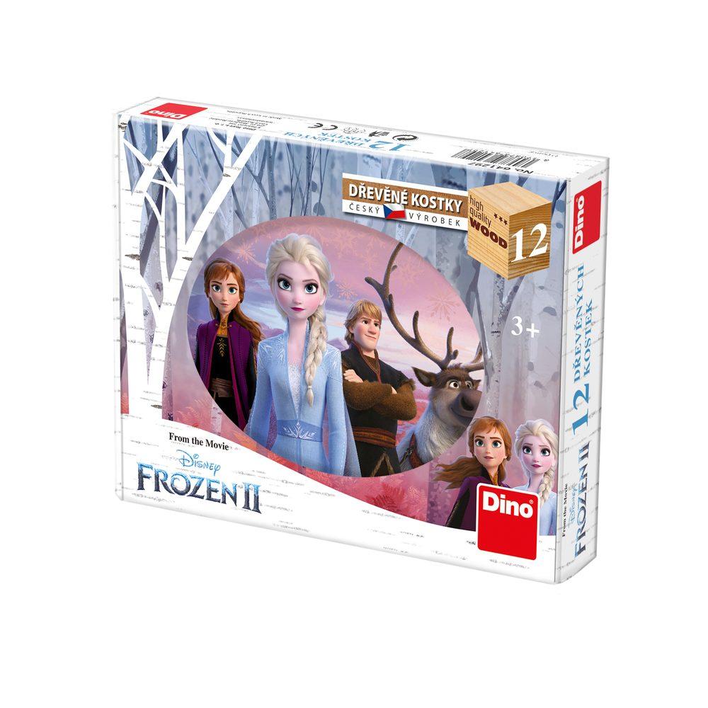DINO Toys Kubus FROZEN 2 12 kostek - Ledové království