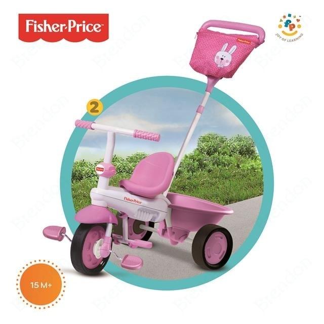 Smart-Trike SMART TRIKE tříkolka Fisher Price 146 Elite pink
