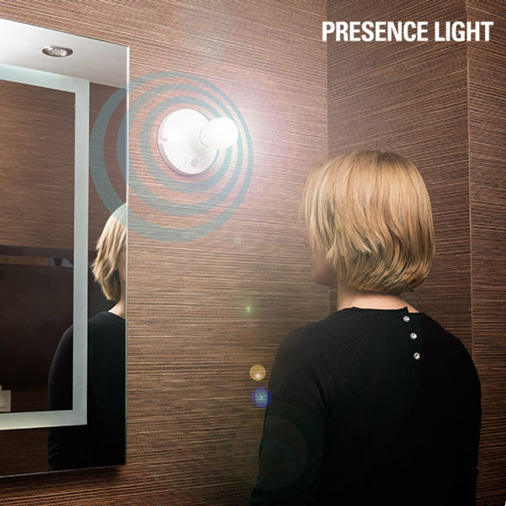 InnovaGoods Objímka na Žárovky s Pohybovým Čidlem Presence Light
