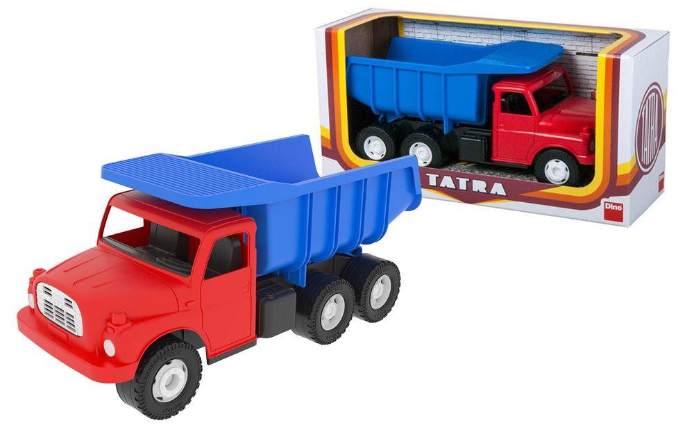 DINO Toys Auto Tatra 148 modro-červená plastová 30cm