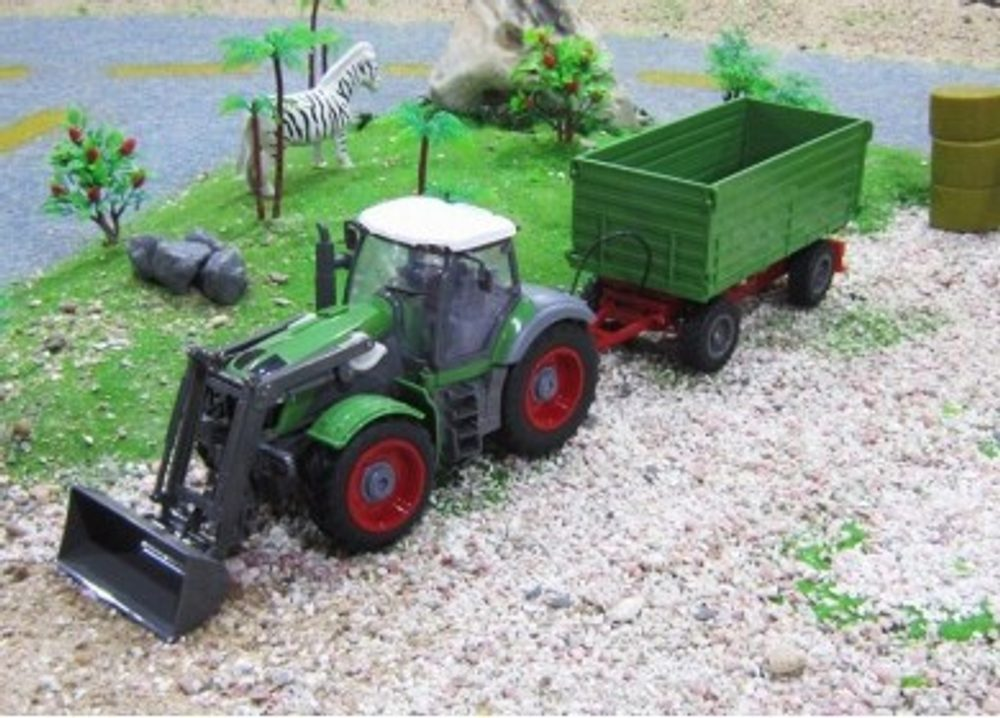Rayline GmbH RC traktor se sklápěcím vozem a funkční lopatou