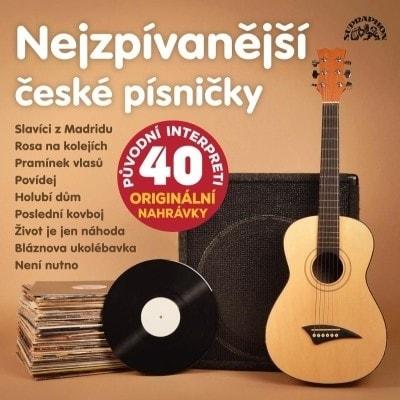 SUPRAPHON Various : Nejzpívanější české písničky, CD