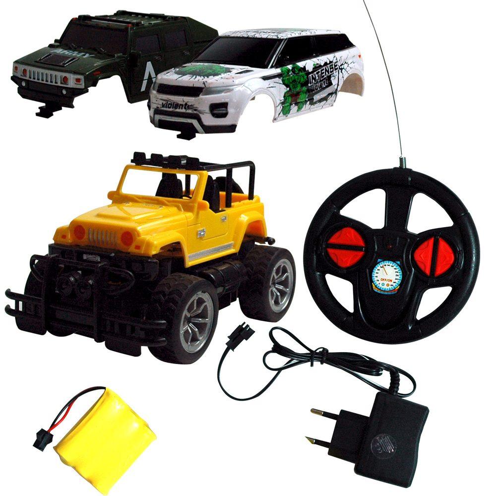 Rayline GmbH OVERLORD RC auto s akumulátory a se třemi karoseriemi v balení