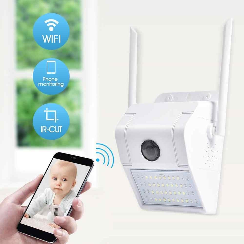 Venkovní WiFi-IP HD kamera s 48 Bílé a IR LED-vodotěsná-SD až 32GB