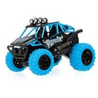 SURPASS STUNT Car BLUE 2WD, 360° otočky na zadních, barevné LED, hudební modul, DEMO, RTR