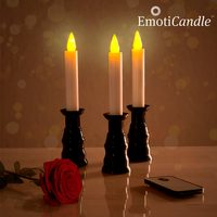 LED Svíčky Romantic Ambiance EmotiCandle (3 kusy)