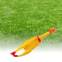 Pískací hračka pro psy - kuře