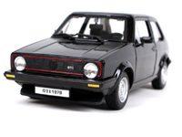 Bburago Volkswagen Golf MK1 GTI 1:24 černá