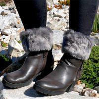 Návleky na nohy - šedé