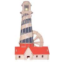 Woodcraft Dřevěné 3D puzzle maják