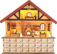 Small Foot Dřevěný adventní kalendář vánoční pekárna