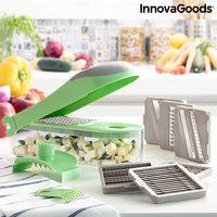 Kráječ na zeleninu, struhadlo a mandolina s recepty a doplňky 7 v 1 Choppie Expert InnovaGoods