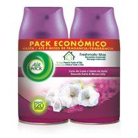 Náhradní Náplň Air Wick FreshMatic Duplo Moon Iris and Satin Silk 2 x 250 ml