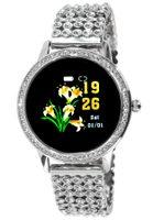 OXE Smart Watch Stone LW20 - chytré hodinky, Silver