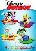 Disney Junior: Příběhy s překvapením, DVD