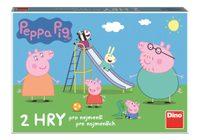 Dino PEPPA PIG POJĎ SI HRÁT A SKLUZAVKY Dětská hra