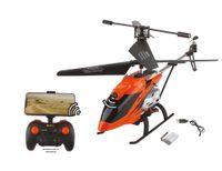 DF-100 FPV vrtulník, kamera, WiFi přenos obrazu, AUTO start/přistání, LED, ALU šasi, RTF