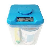Kuchyňský box s časovačem (modrá). Návykový pomocník. Poškozený obal