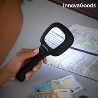 Lupa s LED a ultrafialovým světlem 3X InnovaGoods