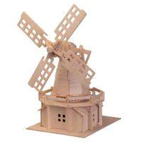 Woodcraft Dřevěné 3D puzzle větrný mlýn