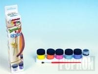Barvy na keramiku a sklo 6ks