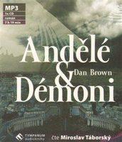 Táborský Miroslav - Brown: Andělé a démoni (MP3-CD), CD