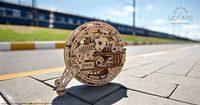 Ugears 3D dřevěné mechanické puzzle Monowheel