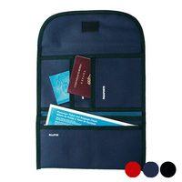 Držák na cestovní dokumenty Polyester 300d 148946 Černý