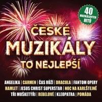 Various : České muzikály : To nejlepší, CD
