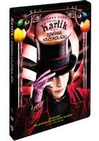 Karlík a továrna na čokoládu, DVD