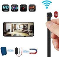 WIFI IP kamerový modul 4K/2K/1080P/90° úhel vidění/3000mAh/SD až 128GB