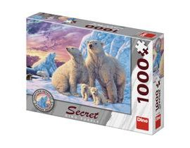 Dino LEDNÍ MEDVĚDI 1000 secret collection Puzzle NOVÉ