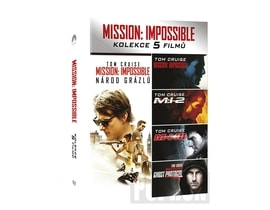Mission: Impossible kolekce 1-5, 5DVD