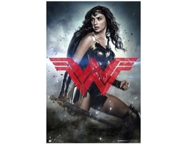 Plakát Batman vs Superman Wonder Woman (61 x 91,5 cm) 150g