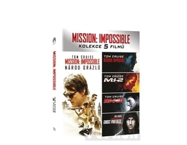 Mission: Impossible kolekce 1-5, BD