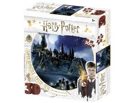 3D PUZZLE Harry Potter - Bradavice 300 ks