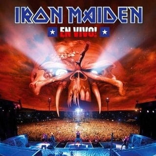 Iron Maiden - En Vivo!, CD