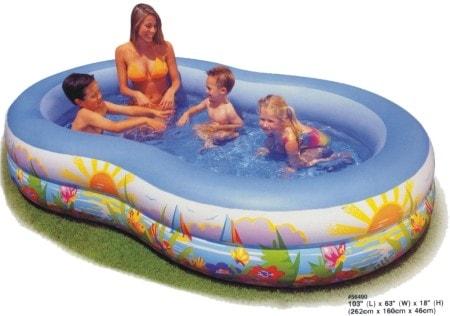 Intex Rodinný Bazén