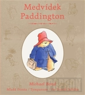 Tomáš Juřička - Medvídek Paddington (Michael Bond), MP3-CD