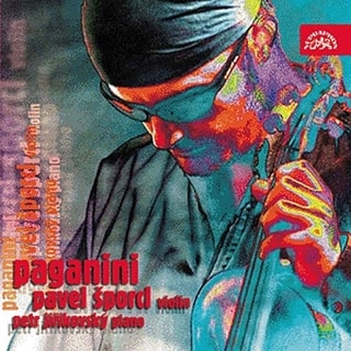 Pavel Šporcl - Paganini, CD