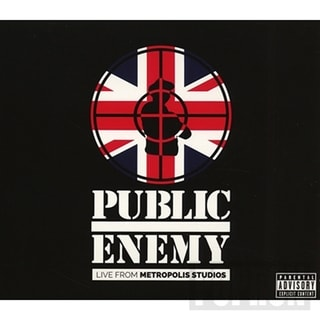 Public Enemy - Live At Metropolis Studios, CD
