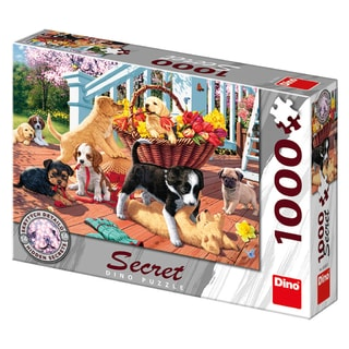 Dino ŠTĚŇATA 1000 secret collection Puzzle NOVÉ