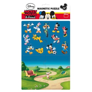 Dino MICKEYHO KLUBÍK magnety Puzzle