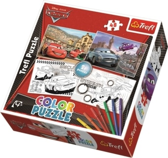 Trefl puzzle Color 36502 - Cars 48 d.
