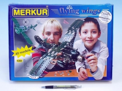 Stavebnice MERKUR Flying wings 40 modelů 640ks